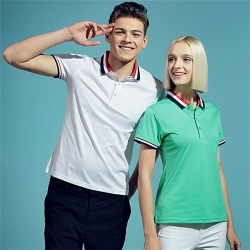 Beech fiber short sleeve polo shirt
